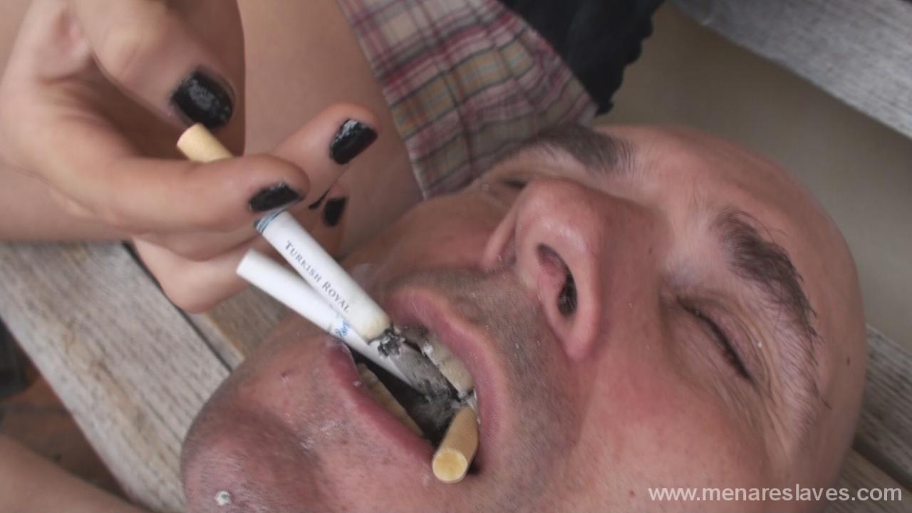 Free human ashtray femdom videos