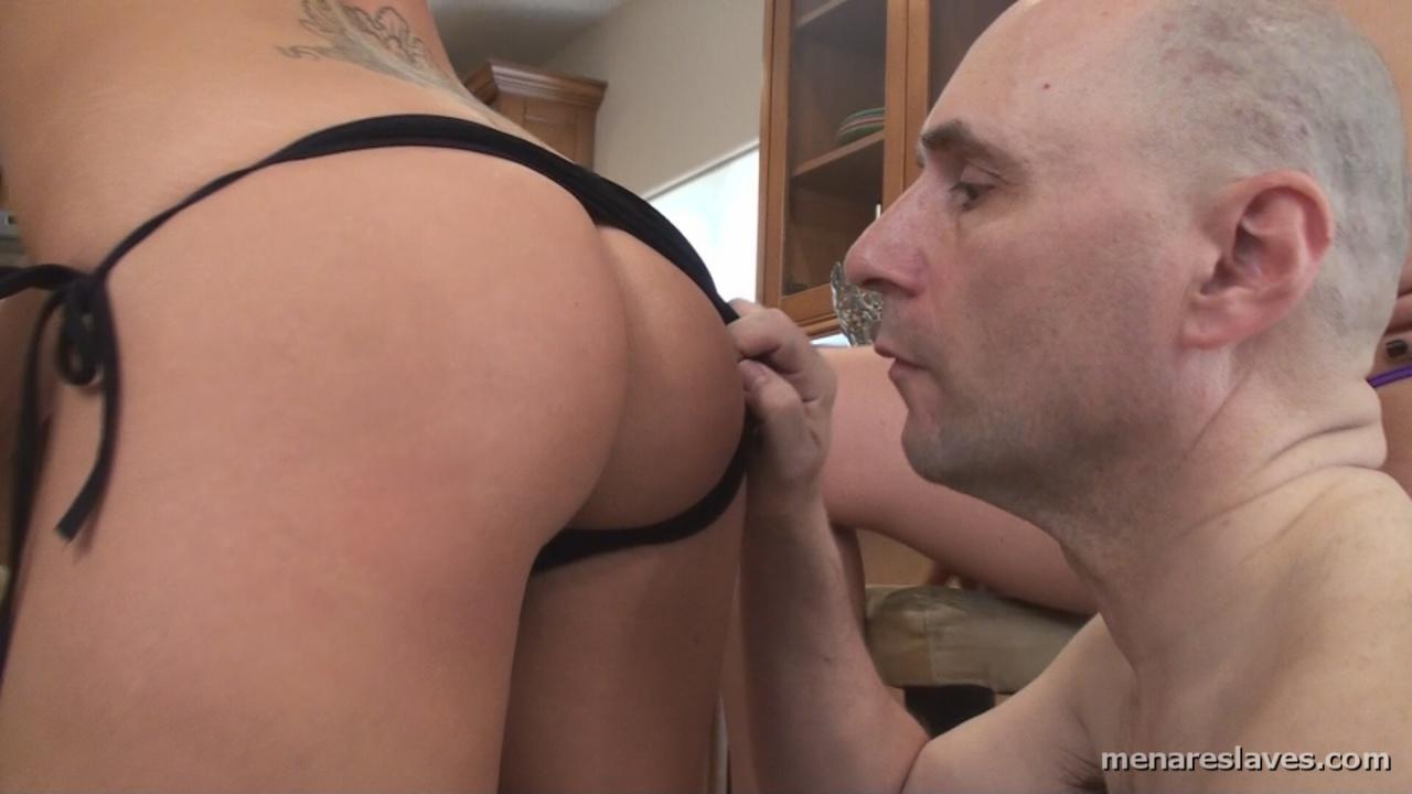 Slave lick mistress sweaty armpit