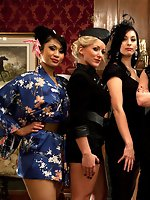 6 of the hottest and toughest dominatrixes ever demand worship and...